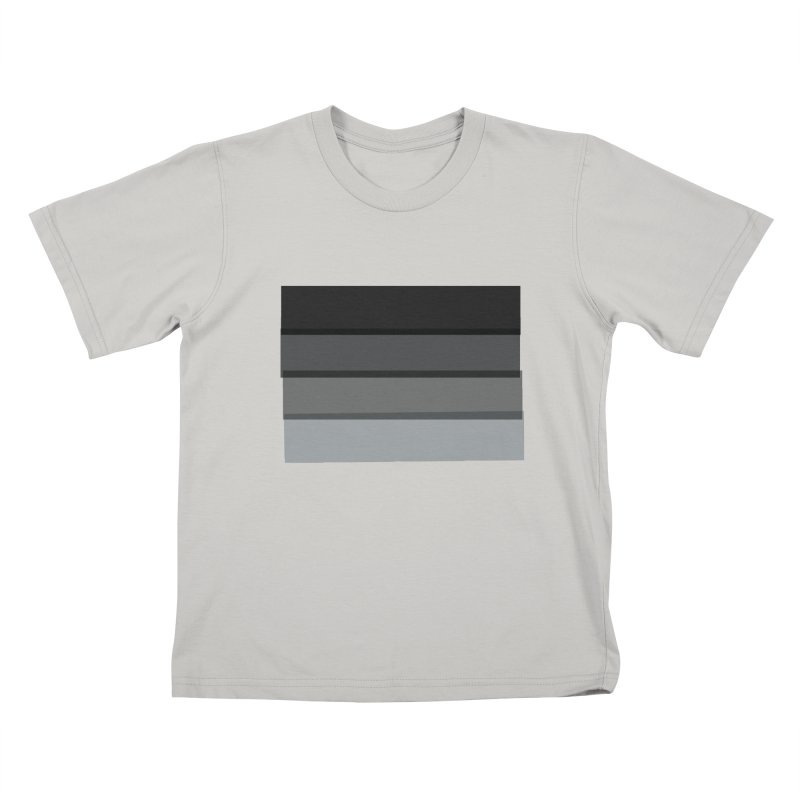 Noir Kids T-Shirt by 8 TV Artist Shop