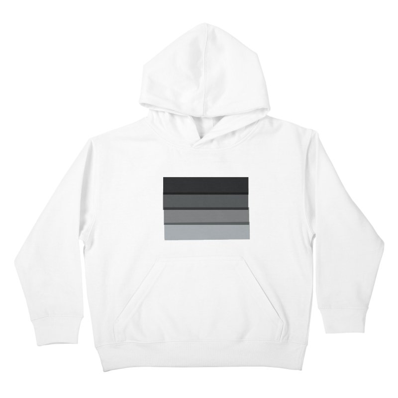Noir Kids Pullover Hoody by 8 TV Artist Shop