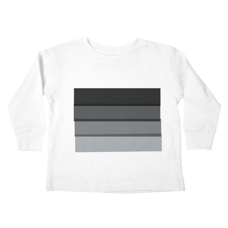 Noir Kids Toddler Longsleeve T-Shirt by 8 TV Artist Shop
