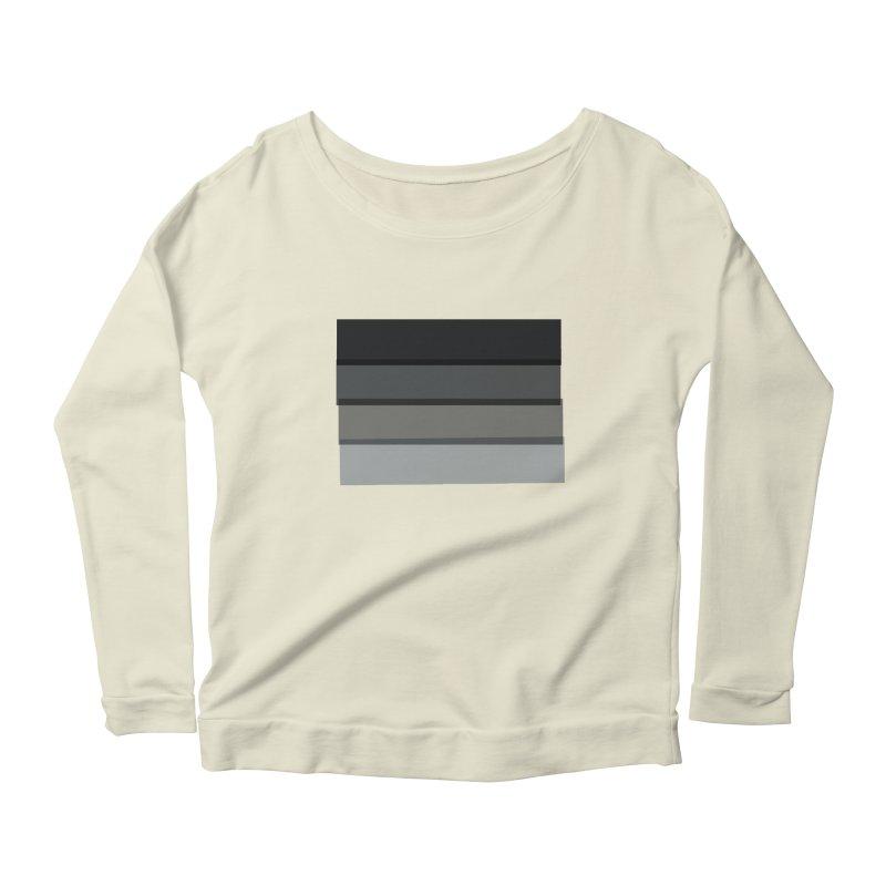 Noir Women's Scoop Neck Longsleeve T-Shirt by 8 TV Artist Shop