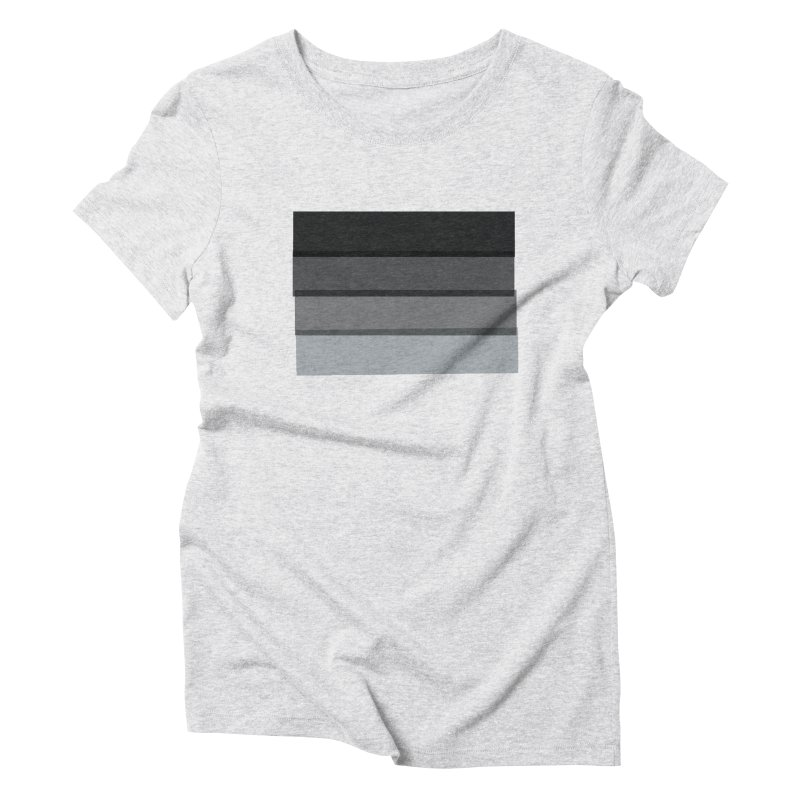 Noir Women's Triblend T-Shirt by 8 TV Artist Shop