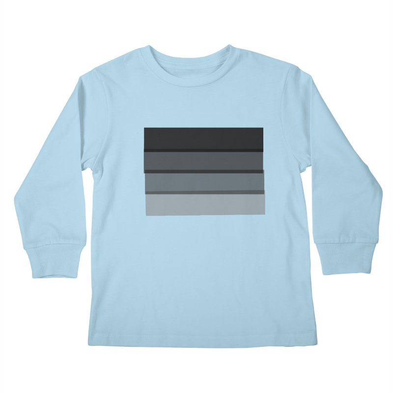 Noir Kids Longsleeve T-Shirt by 8 TV Artist Shop
