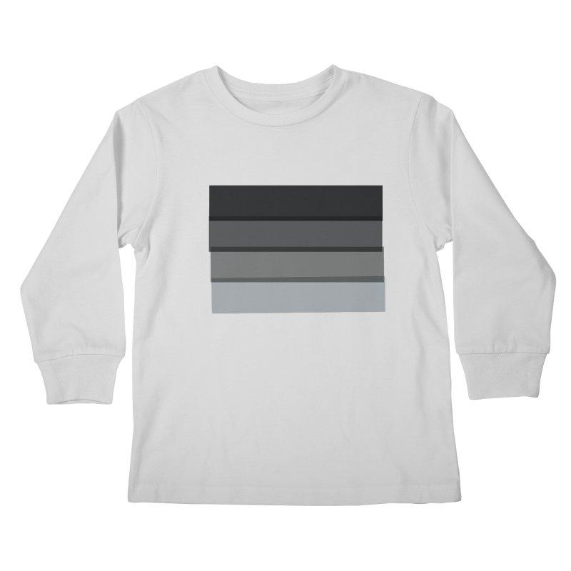 Noir Kids Longsleeve T-Shirt by 8 TV Artist Shop