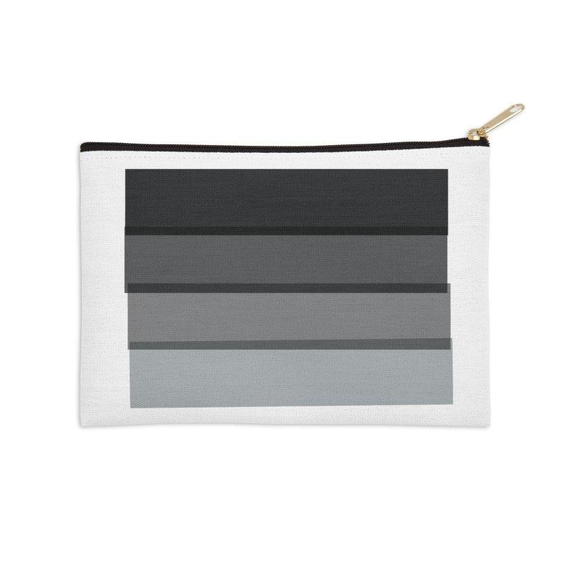 Noir Accessories Zip Pouch by 8 TV Artist Shop