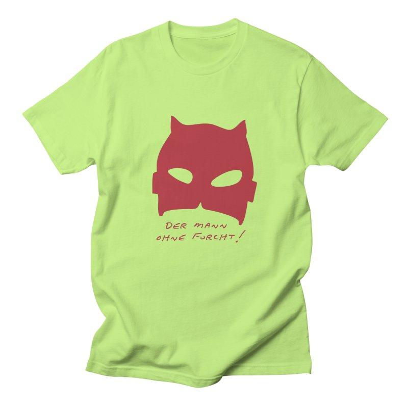 the man without fear Men's Regular T-Shirt by 8 TV Artist Shop