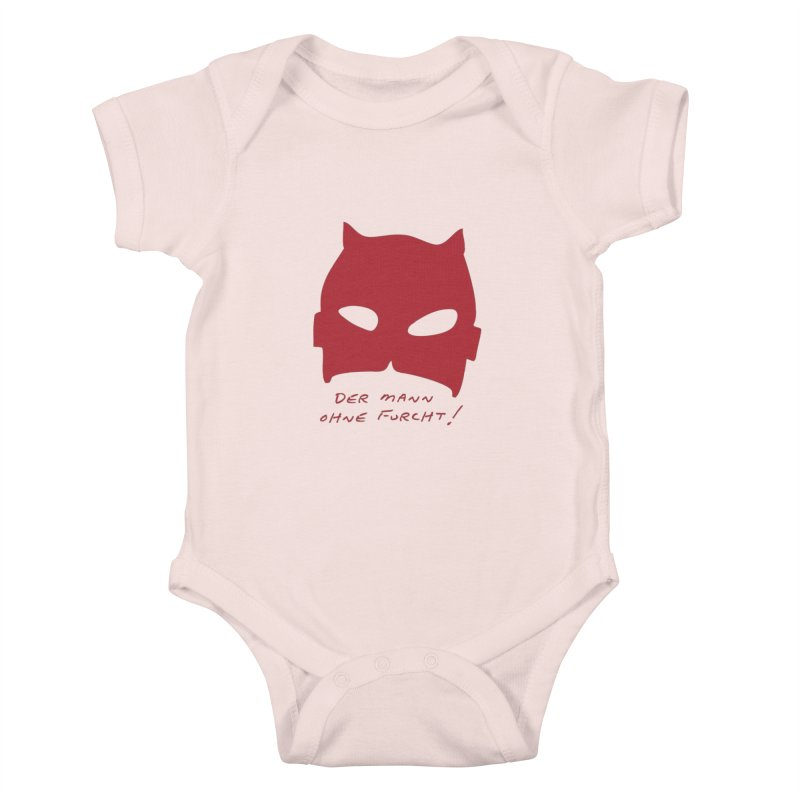 the man without fear Kids Baby Bodysuit by 8 TV Artist Shop