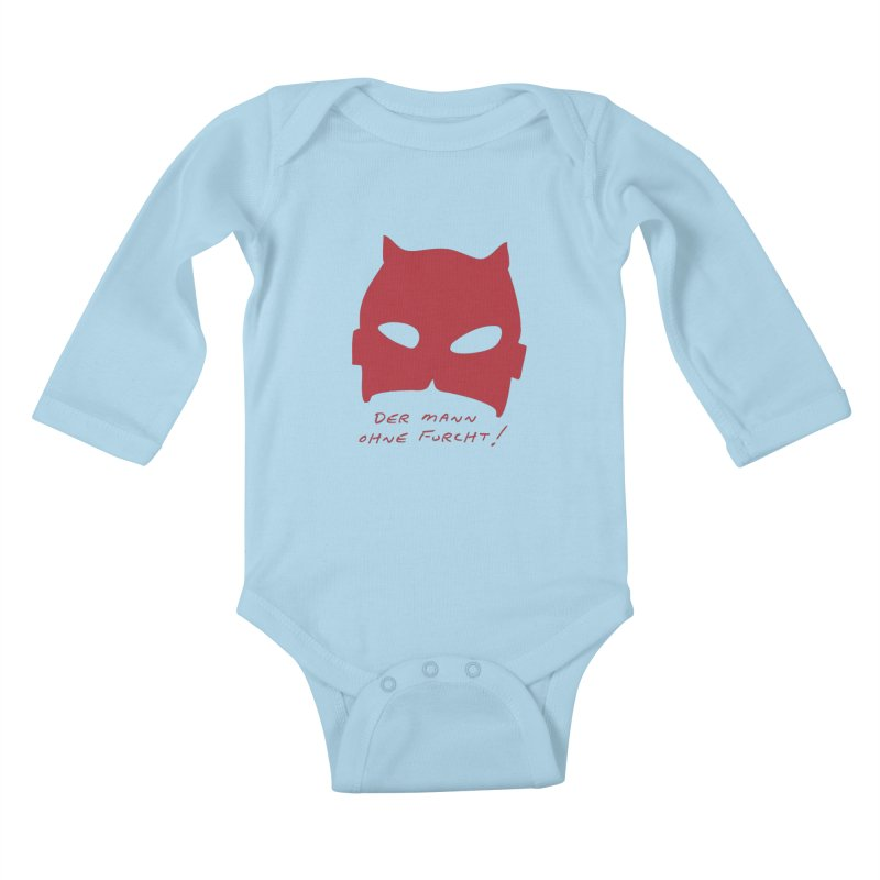 the man without fear Kids Baby Longsleeve Bodysuit by 8 TV Artist Shop