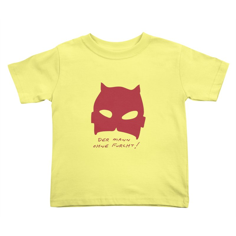 the man without fear Kids Toddler T-Shirt by 8 TV Artist Shop
