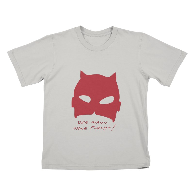 the man without fear Kids T-shirt by 8 TV Artist Shop