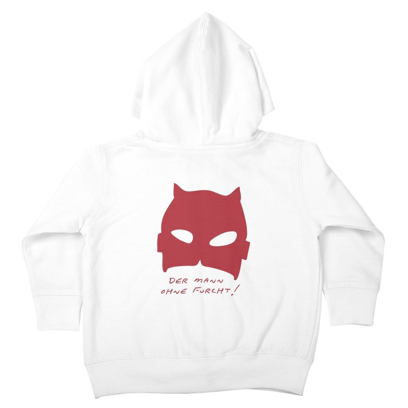 the man without fear Kids Toddler Zip-Up Hoody by 8 TV Artist Shop
