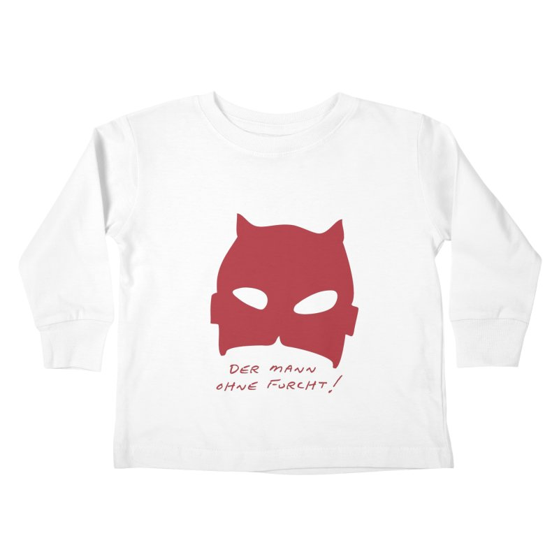 the man without fear Kids Toddler Longsleeve T-Shirt by 8 TV Artist Shop