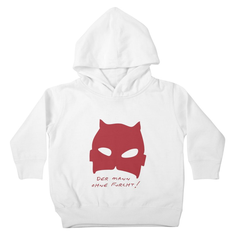 the man without fear Kids Toddler Pullover Hoody by 8 TV Artist Shop