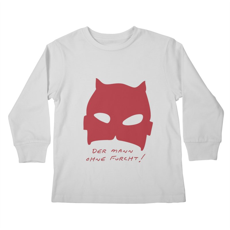 the man without fear Kids Longsleeve T-Shirt by 8 TV Artist Shop