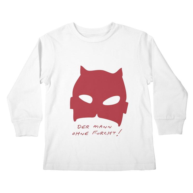 the man without fear Kids Longsleeve T-Shirt by 8 TV Artist Shop