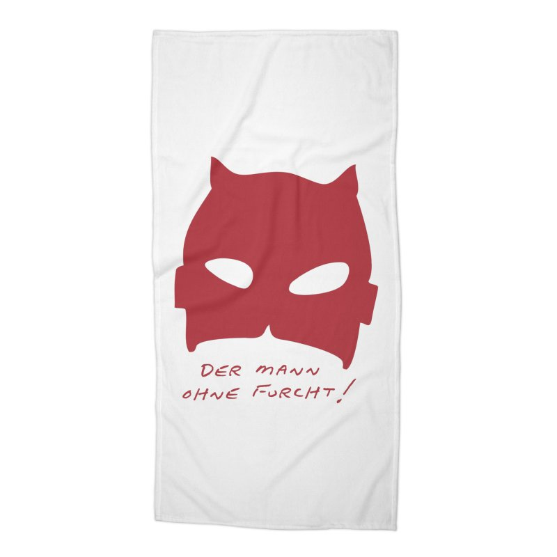 the man without fear Accessories Beach Towel by 8 TV Artist Shop