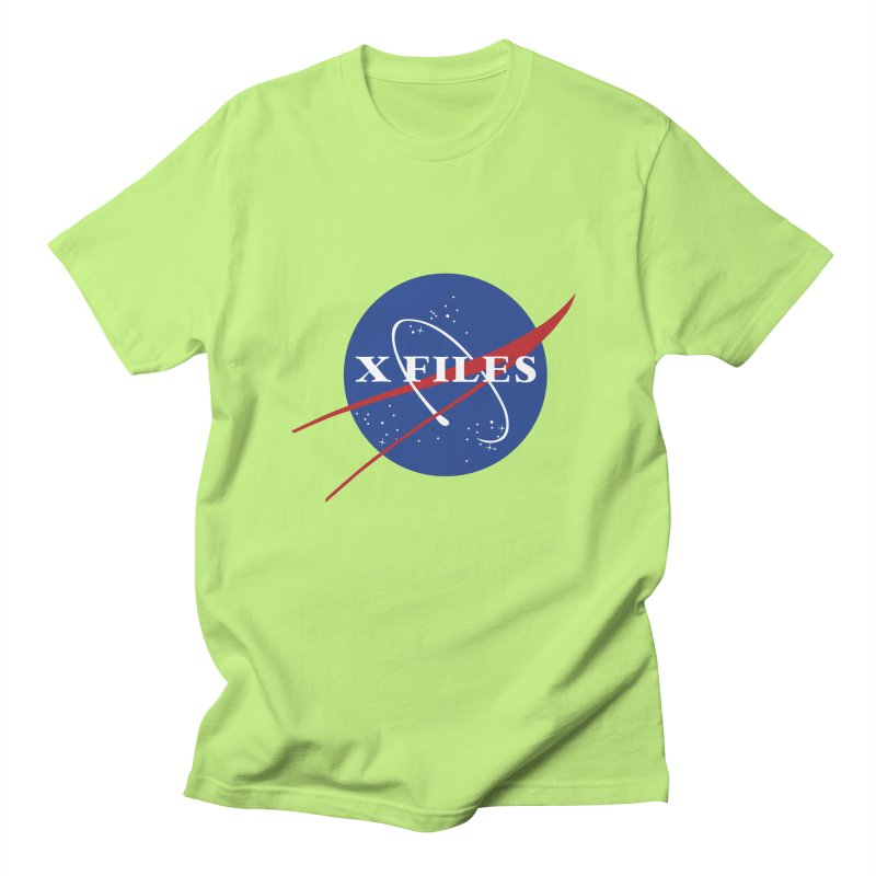 the nasa files Men's Regular T-Shirt by 8 TV Artist Shop