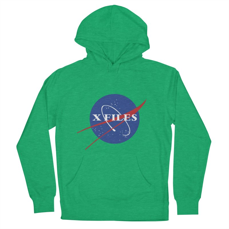 the nasa files Men's French Terry Pullover Hoody by 8 TV Artist Shop