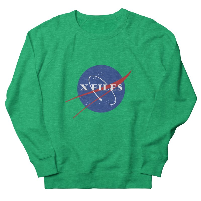the nasa files Men's French Terry Sweatshirt by 8 TV Artist Shop