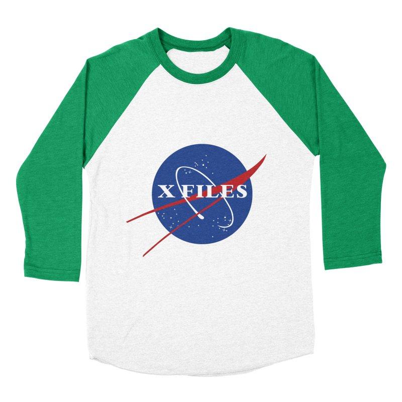 the nasa files Women's Baseball Triblend T-Shirt by 8 TV Artist Shop