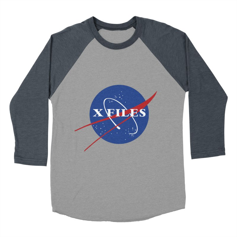 the nasa files Women's Baseball Triblend T-Shirt by 8 TV Artist Shop