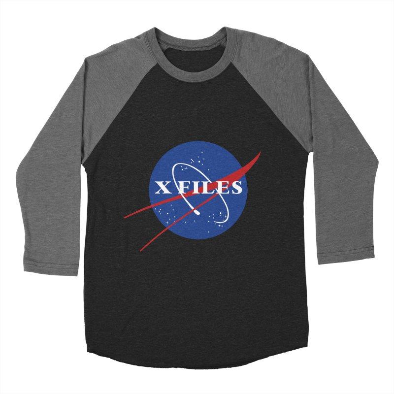the nasa files Men's Baseball Triblend T-Shirt by 8 TV Artist Shop