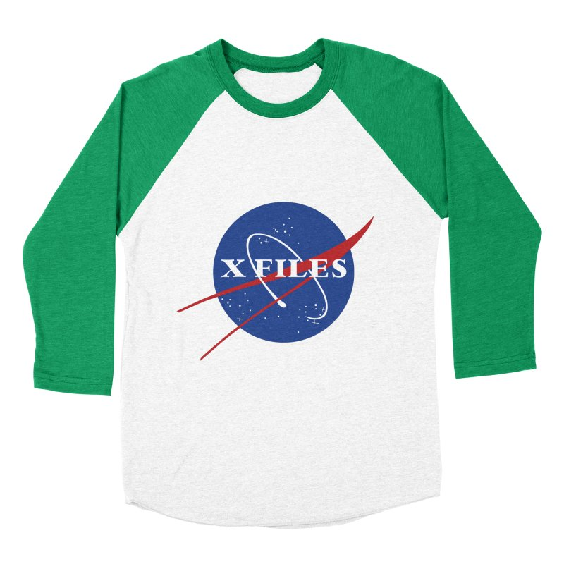 the nasa files Men's Baseball Triblend T-Shirt by 8 TV Artist Shop