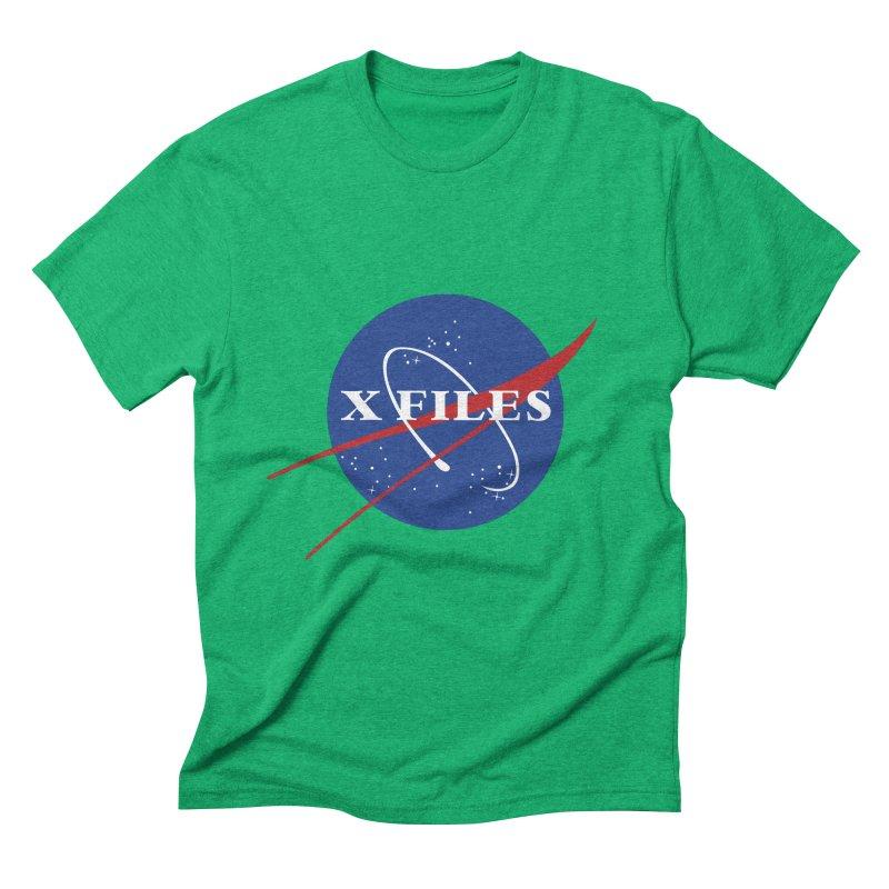 the nasa files Men's Triblend T-shirt by 8 TV Artist Shop