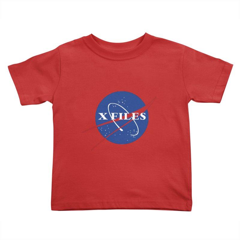 the nasa files Kids Toddler T-Shirt by 8 TV Artist Shop