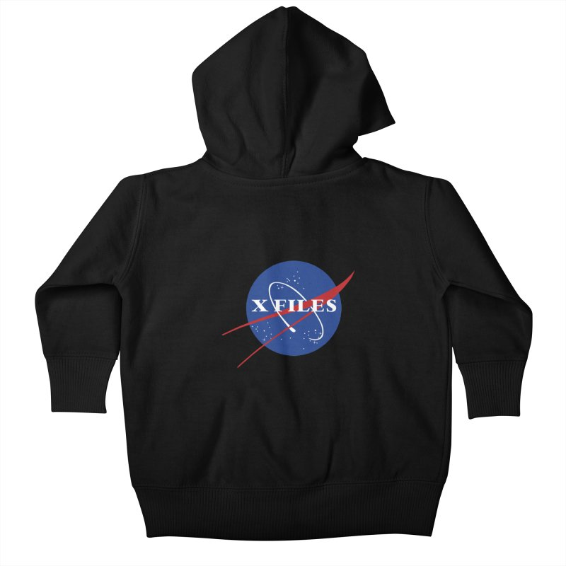 the nasa files Kids Baby Zip-Up Hoody by 8 TV Artist Shop