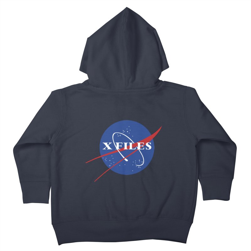 the nasa files Kids Toddler Zip-Up Hoody by 8 TV Artist Shop