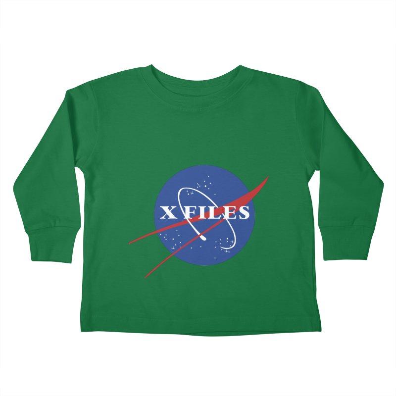 the nasa files Kids Toddler Longsleeve T-Shirt by 8 TV Artist Shop