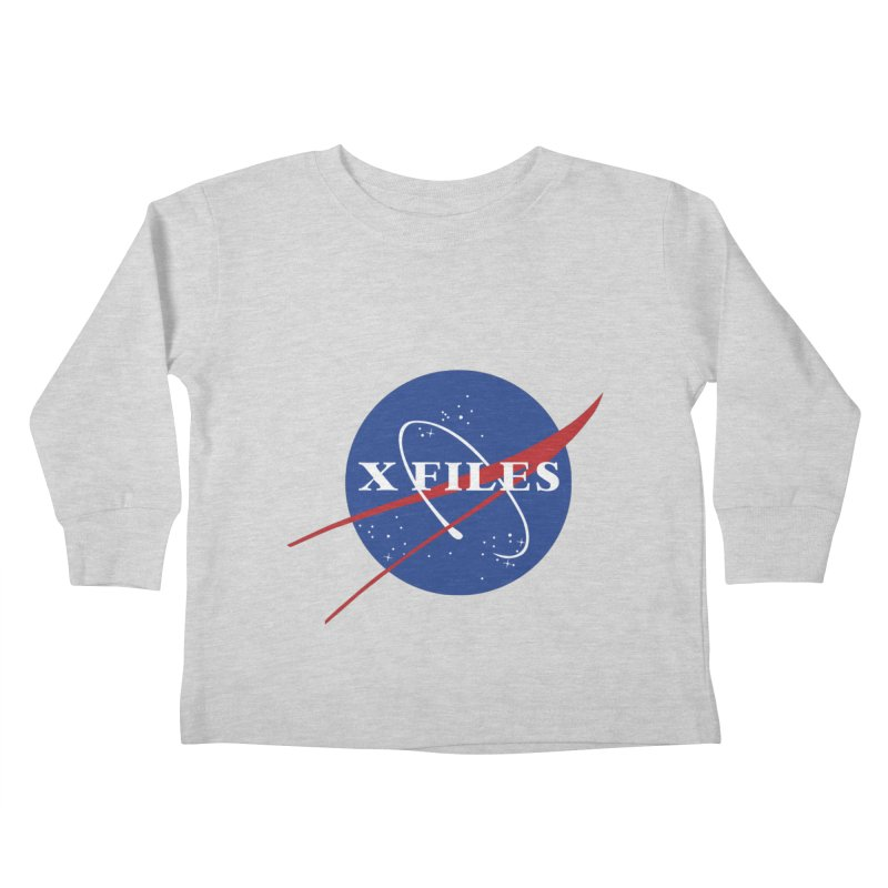 the nasa files Kids Toddler Longsleeve T-Shirt by 8 TV Artist Shop