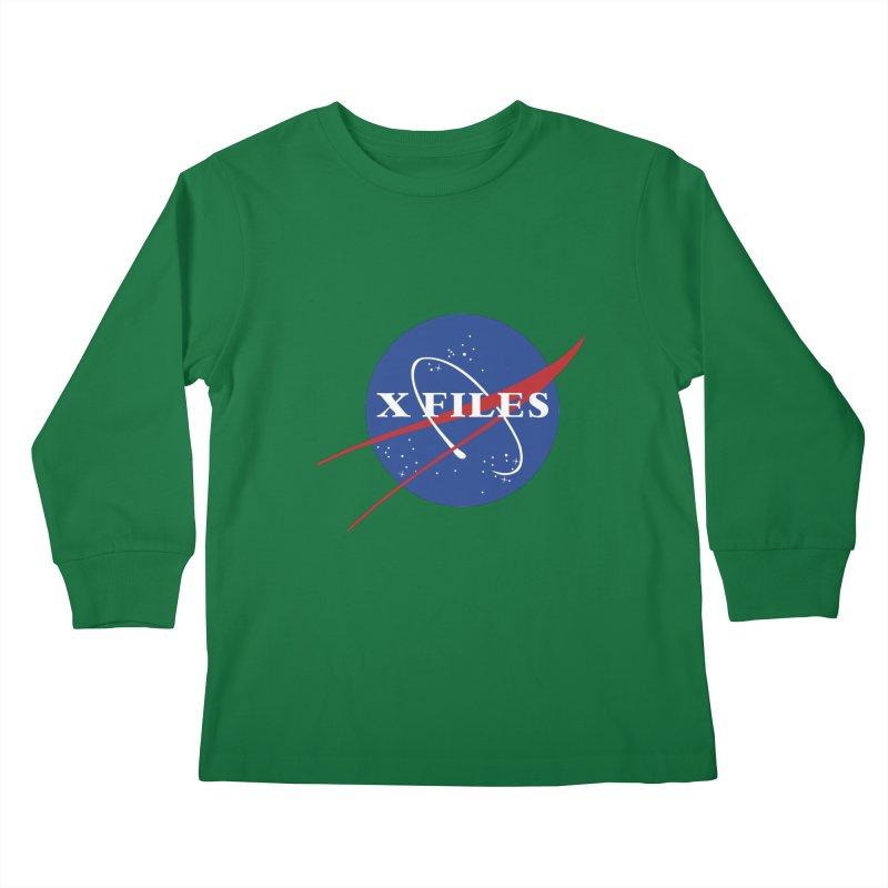the nasa files Kids Longsleeve T-Shirt by 8 TV Artist Shop