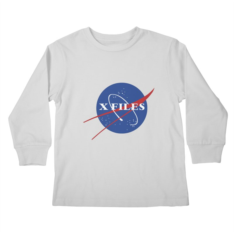 the nasa files Kids Longsleeve T-Shirt by 8 TV Artist Shop