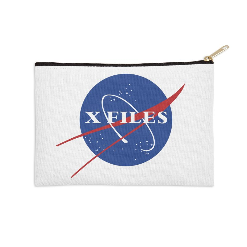 the nasa files Accessories Zip Pouch by 8 TV Artist Shop