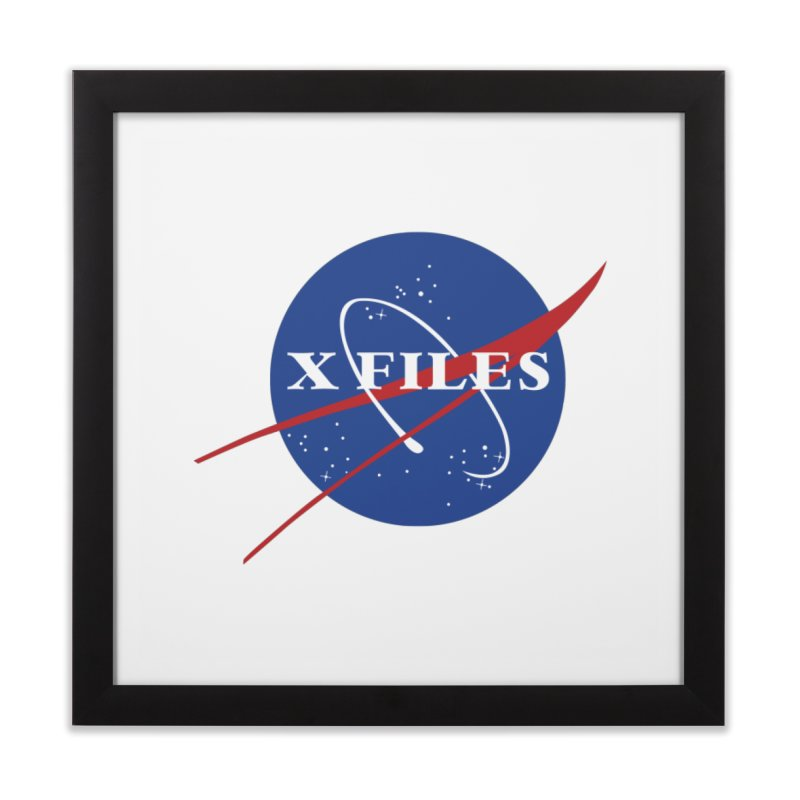 the nasa files Home Framed Fine Art Print by 8 TV Artist Shop
