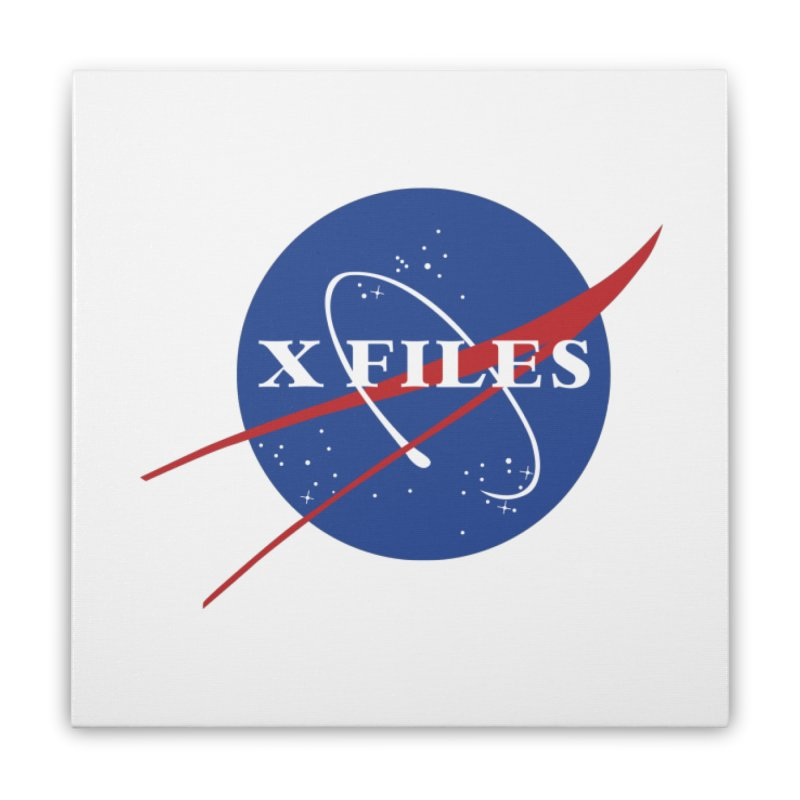 the nasa files Home Stretched Canvas by 8 TV Artist Shop