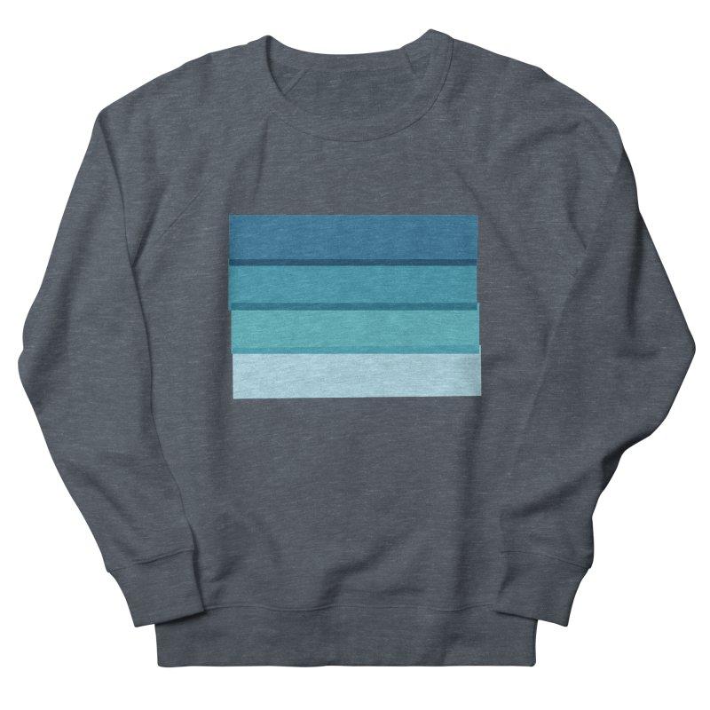 Bleu Women's Sweatshirt by 8 TV Artist Shop