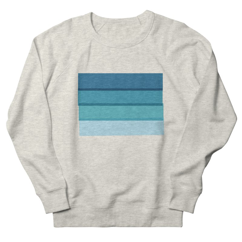 Bleu Men's Sweatshirt by 8 TV Artist Shop