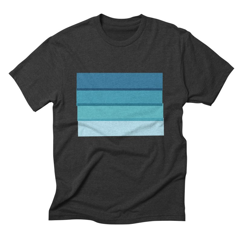 Bleu in Men's Triblend T-Shirt Heather Onyx by 8 TV Artist Shop