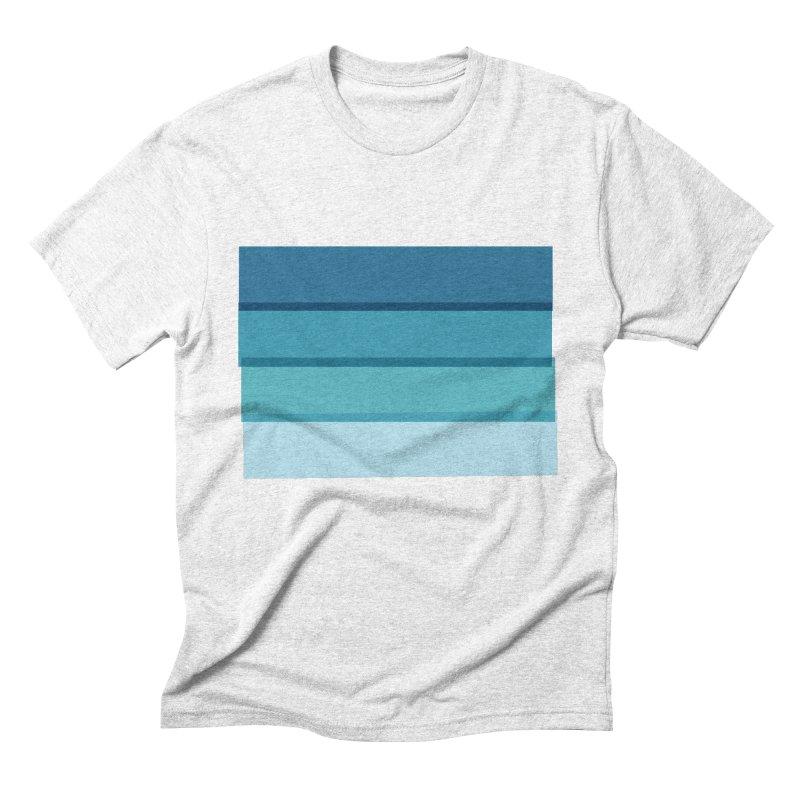 Bleu Men's Triblend T-shirt by 8 TV Artist Shop