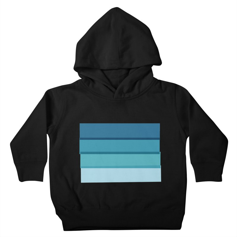 Bleu Kids Toddler Pullover Hoody by 8 TV Artist Shop