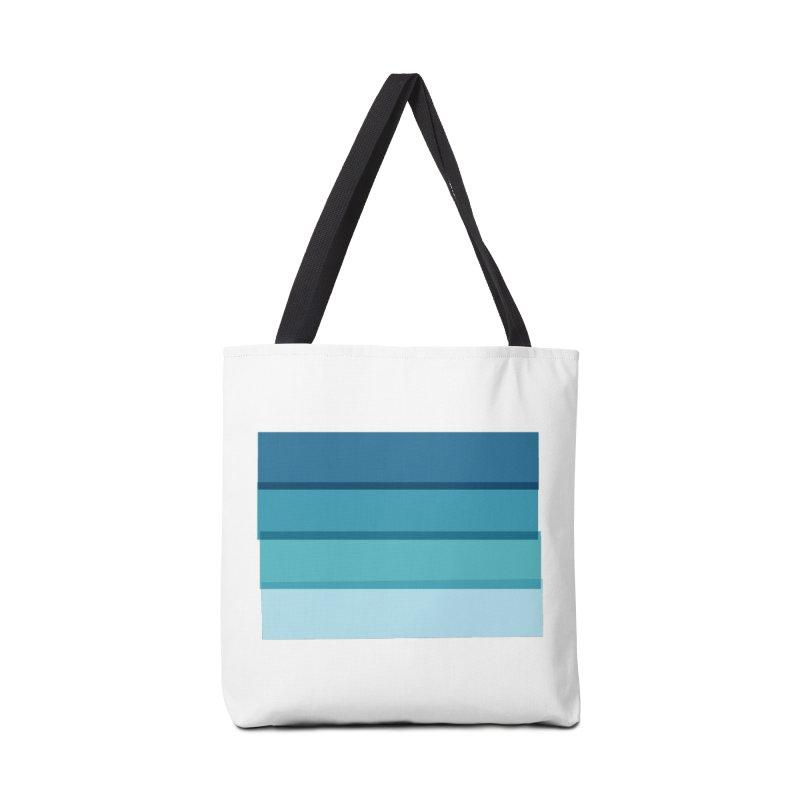 Bleu Accessories Bag by 8 TV Artist Shop