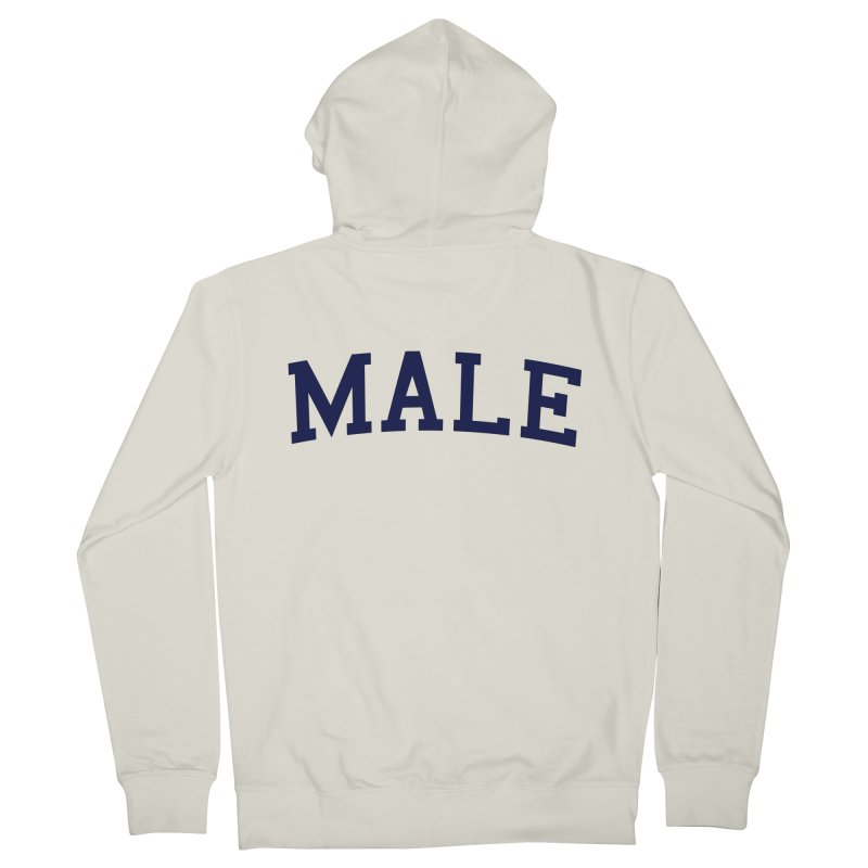 Male Women's Zip-Up Hoody by 8 TV Artist Shop