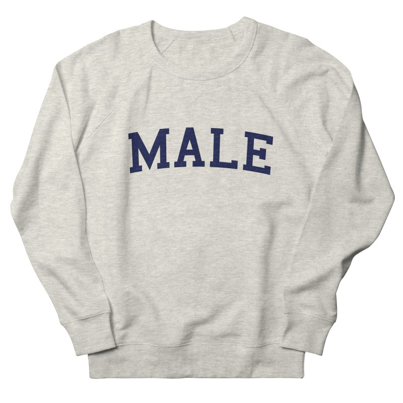 Male Men's Sweatshirt by 8 TV Artist Shop
