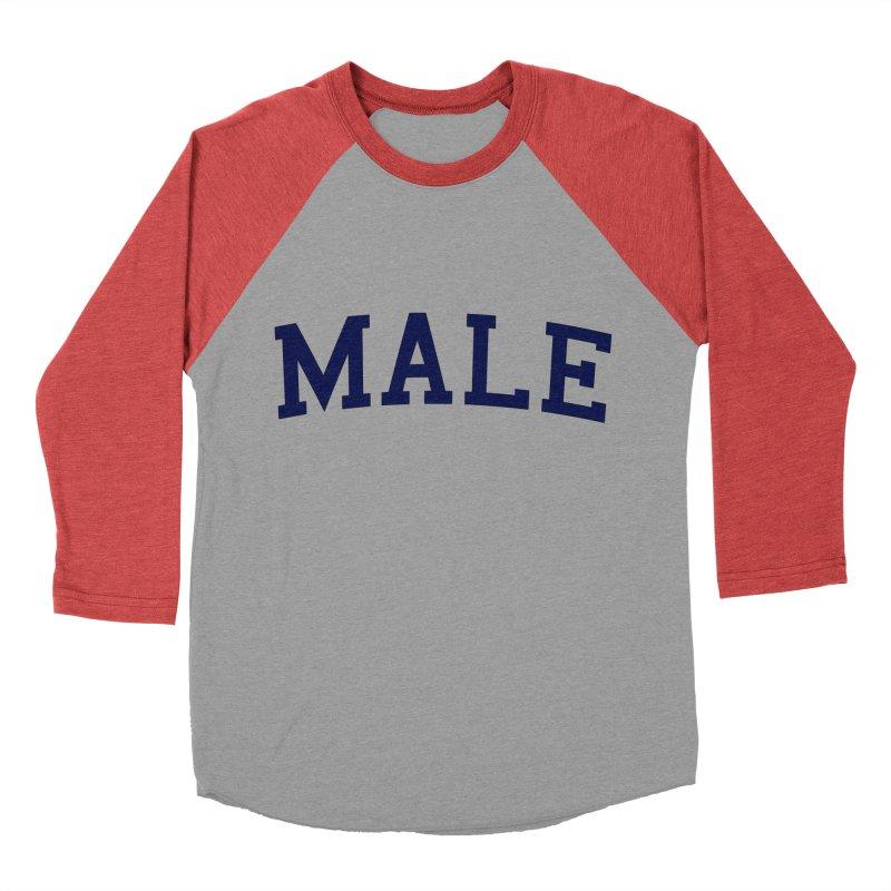 Male Women's Baseball Triblend T-Shirt by 8 TV Artist Shop