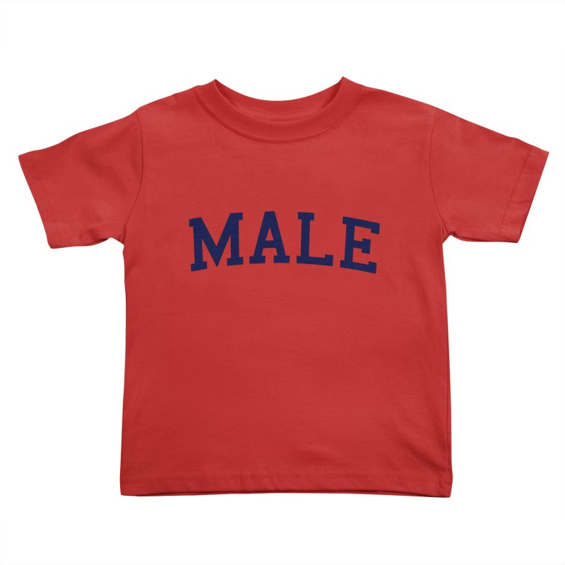 Male Kids Toddler T-Shirt by 8 TV Artist Shop