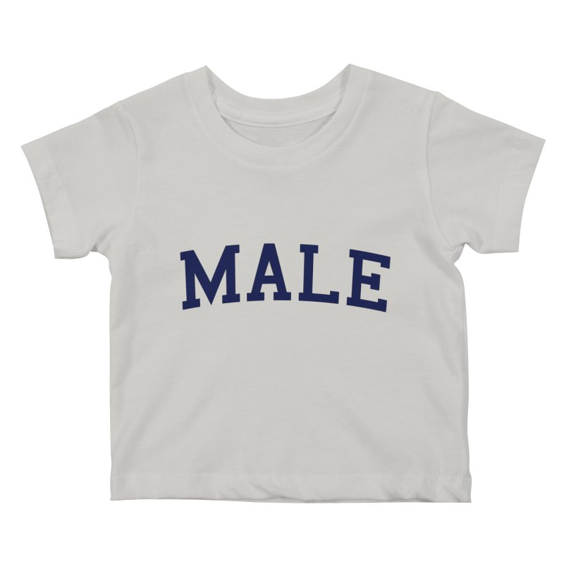 Male Kids Baby T-Shirt by 8 TV Artist Shop