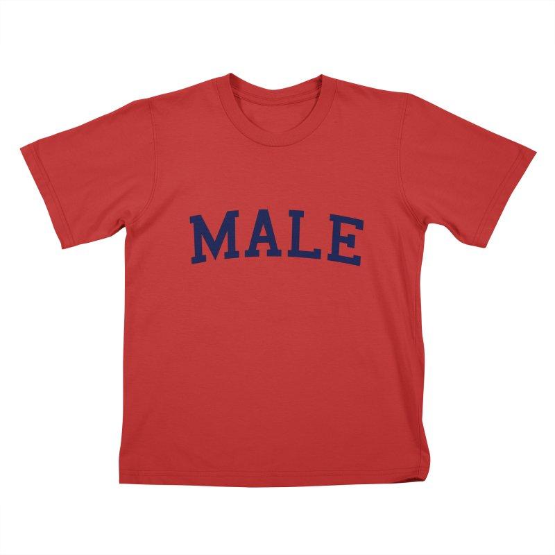 Male Kids T-shirt by 8 TV Artist Shop