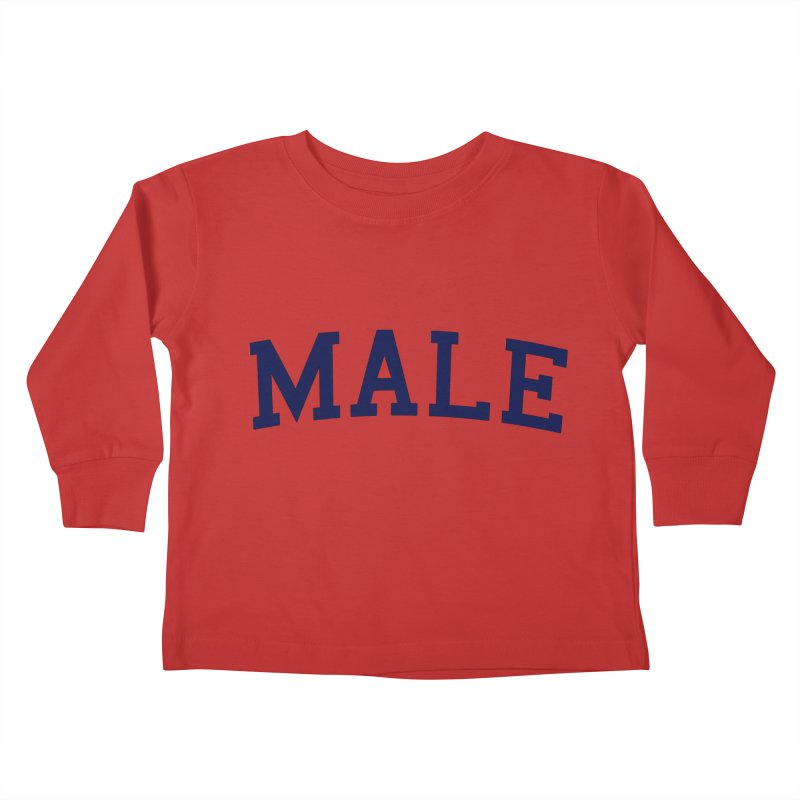 Male Kids Toddler Longsleeve T-Shirt by 8 TV Artist Shop
